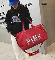 Сумка женская PINK Красная
