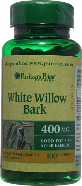 PsP Willow Bark 400 mg - 100 кап
