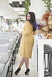 Платье на запах, отлично подчеркивает декольте и показывает шикарные ноги  р.50-52,54-56  код 5163А, фото 4