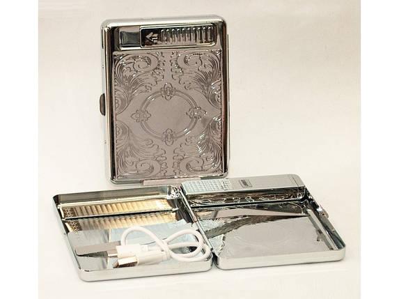 Портсигар на 20 сигарет (тримач метал), фото 2