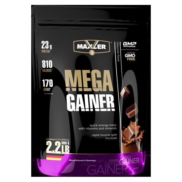 Max_Mega Gainer 1000g пакет - chocolate