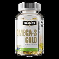 Рыбный жир Maxler Omega-3 Gold - 120softgels
