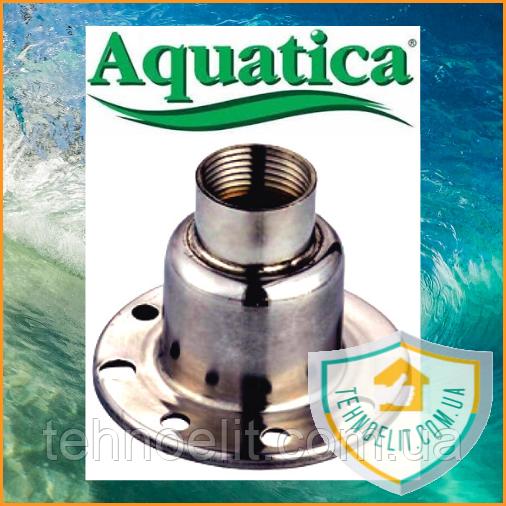Фланец напорный для скважинных насосов Aquatica (777211003). Фланец напорный для погружных насосов.