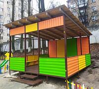 Навесы и беседки Лужанка для детской площадки, фото 1