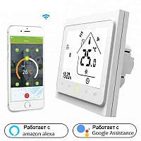 Умный дом: WIFI комнатный термостат для газовых и электрических котлов, программируемый, управл.с телефона