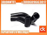 Патрубок радиатора ГАЗ 53 (компл. 3 шт.)