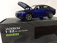 Машинка коллекционная Honda Accord Sport Turbo синяя металлическая модель в масштабе 1:32