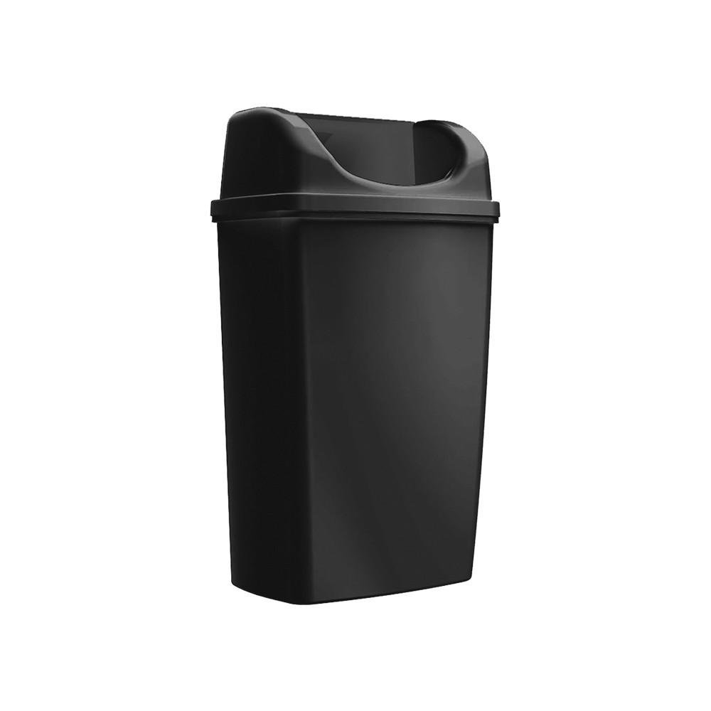 Ведро настенное 25 литров черное
