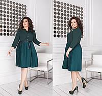 Платье женское с пояском в расцветках 38972, фото 1
