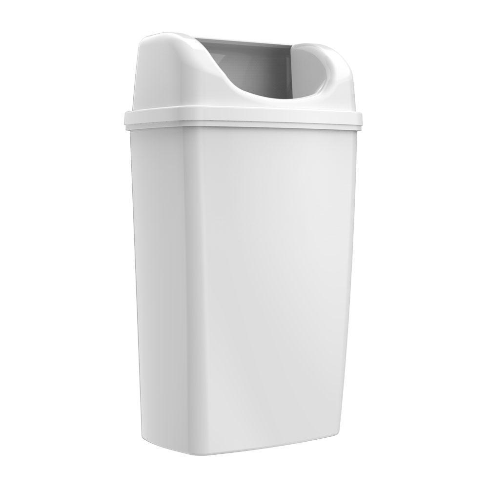 Ведро настенное 50 литров белое
