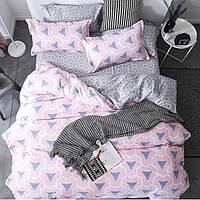 Комплект постельного белья полуторный ранфорс 100% хлопок