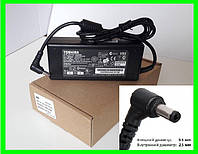 Блок Питания Зарядка для Ноутбука TOSHIBA 19v 4.74a 90W штекер 5.5 на 2.5 (ОРИГИНАЛ) + сетевой шнур