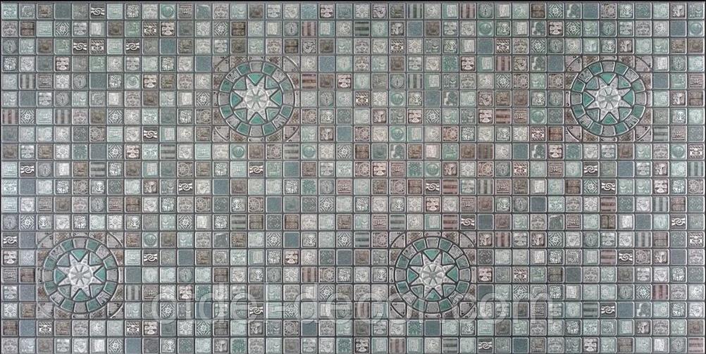 Панели ПВХ Мозаика «Медальон олива» Регул