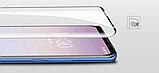 Защитное закаленное 5D стекло для Meizu M8 / Полный клей / Полное покрытие /, фото 4