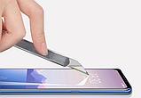 Защитное закаленное 5D стекло для Meizu M8 / Полный клей / Полное покрытие /, фото 5