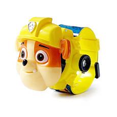"""Детские наручные часы с 3d проектором """"Щенячий патруль (Paw Patrol)/ Крепыш"""" в оригинальной упаковке, фото 3"""