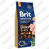 Brit Premium Dog Adult L для взрослых собак крупных пород 15 кг