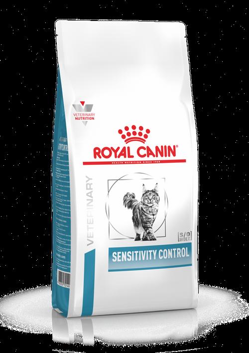 При пищевой аллергии или непереносимости Royal Canin Sensitivity Control SC 27 Cat, 1,5 кг