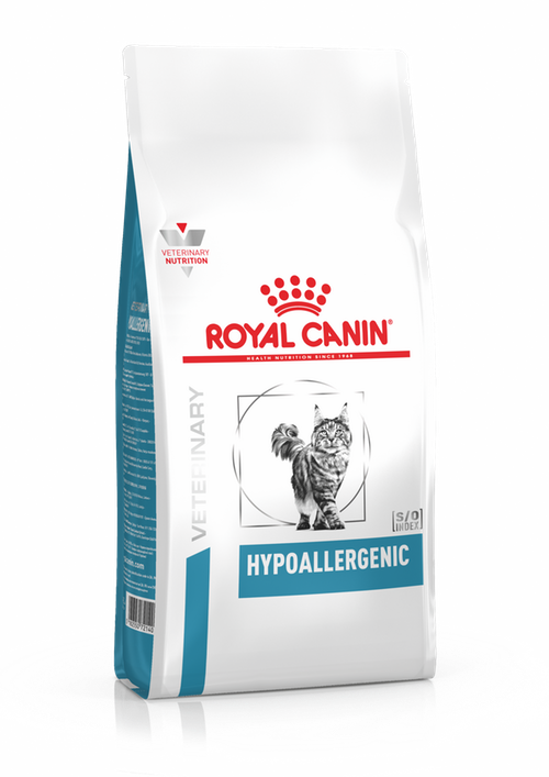 Корм при пищевой аллергии или непереносимости Royal Canin Hypoallergenic Cat, 400 г