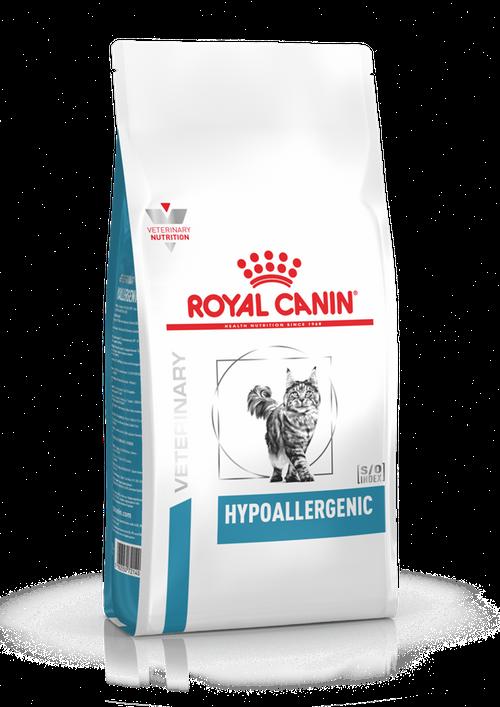 Корм для котов при пищевой аллергии или непереносимости Royal Canin Hypoallergenic Cat, 2,5 кг