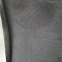 Алькантара на поролоне ткань для обшивки автомобиля пошив чехлов обшивка карт дверных сублимация 546 серый