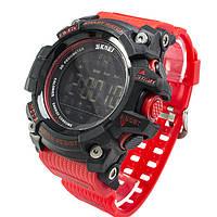 Смарт-спортивні годинник Skmei 1227 Black-Red