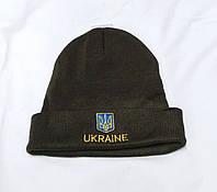 """""""Шапка Ukraine"""", олива"""