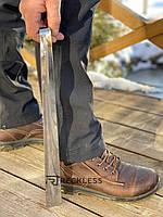 Ложка(рожок) для обуви из нержавеющей стали  46 см, металл 1,5 мм.