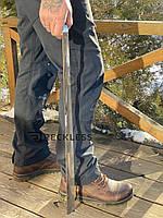 Длинная ложка(рожок) для обуви, лопатка из нержавеющей стали  75 см, металл 1,5 мм.