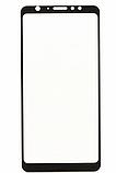 Защитное закаленное 5D стекло для Meizu M8 / Полный клей / Полное покрытие /, фото 2