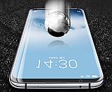 Защитное закаленное 5D стекло для Meizu M8 / Полный клей / Полное покрытие /, фото 3
