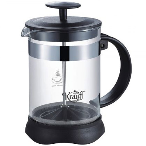Френч-прес Krauff 1000 мл пластик + нерж. сталь (26-177-035)