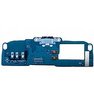 Плата нижняя (плата зарядки) HTC Desire 700 с разъемом зарядки и компонентами