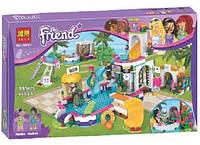 Конструктор серії Friend Bela Аквапарк Басейн (Аналог Lego 41313) 593 Деталі, фото 1