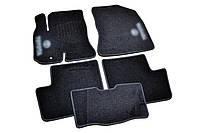 Ковры салона для Toyota RAV4 2000-2005 черные, 5шт ворсовые
