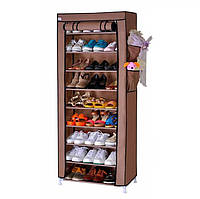 Стеллаж полка для хранения обуви 160х60х30 9 полок Shoe Cabinet 149668