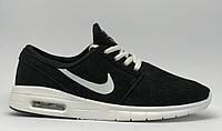 Кроссовки мужские Nike Stefan Janoski 111829 черные реплика