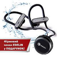 Беспроводные наушники вкладыши bluetooth гарнитура с водозащитой IPx7 и HD звуком Edelin2