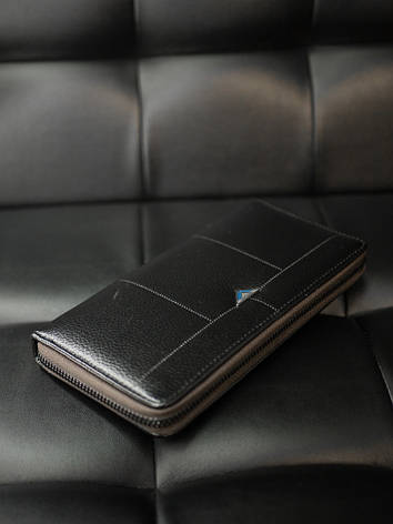 Гаманець портмоне Гінтонг чорний, фото 2