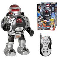 Игрушка Робот на радиоуправлении стреляет дисками