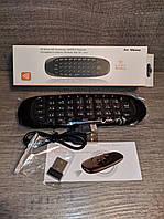 Аэромышь Air Mouse C120 с гироскопом + клавиатура Black