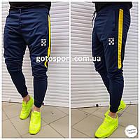 Мужские спортивные штаны OFF White Blue, фото 1