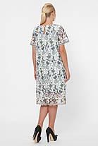 Женское нарядное платье из ирландского кружева- макраме 52-54, фото 2