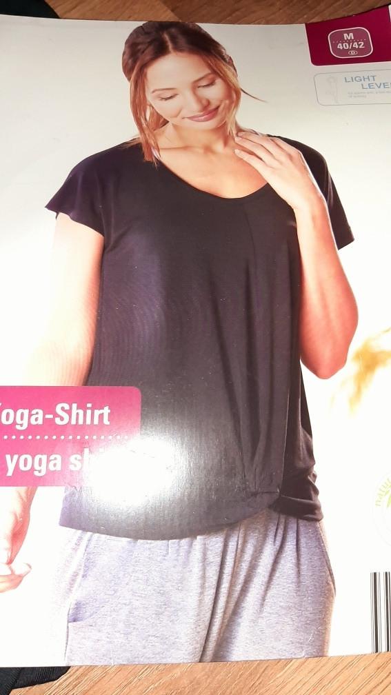 Оригинальная футболка блуза для йоги и спорта Lidl, Германия, размер укр 46-50