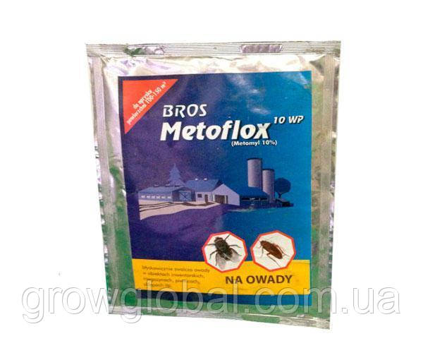 Инсектицид «Метофлокс» 25 г, средство от мух, тараканов, муравьев, клопов и комаров Брос