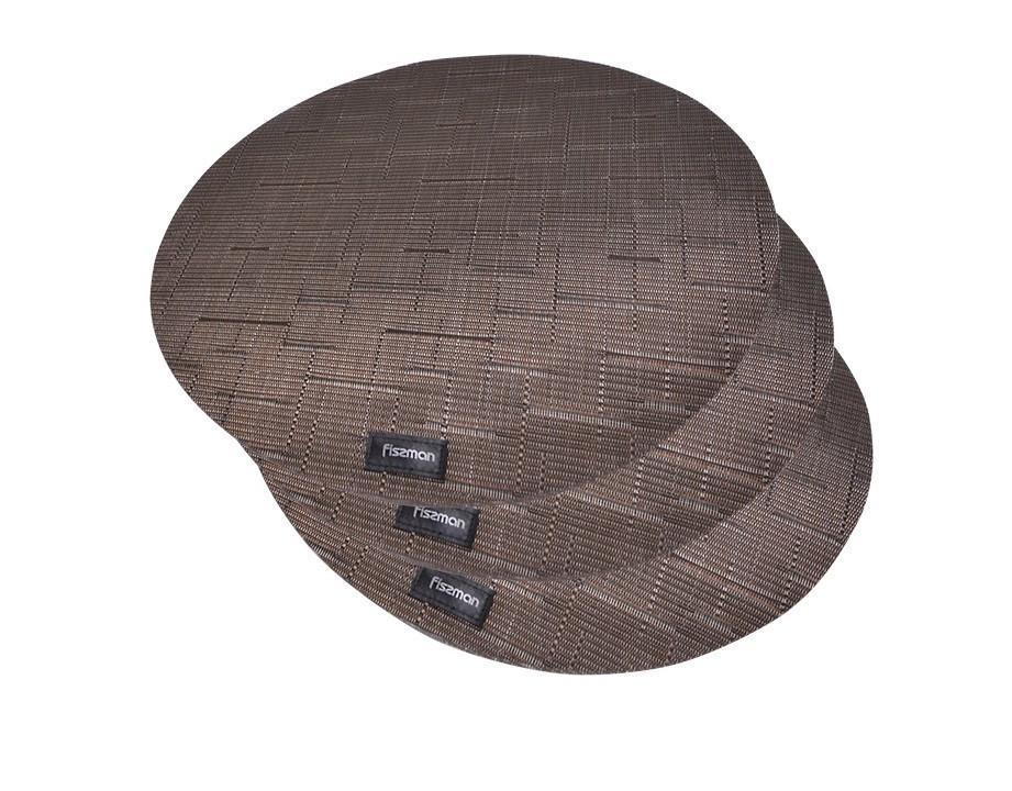 Набір сервірувальних килимків Fissman 36 см 4 шт 0676