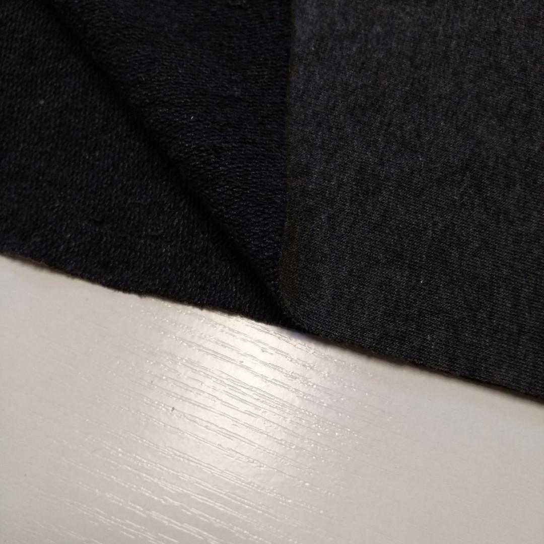 Трехнитка петля Антрацит, плотность 320 г/м2
