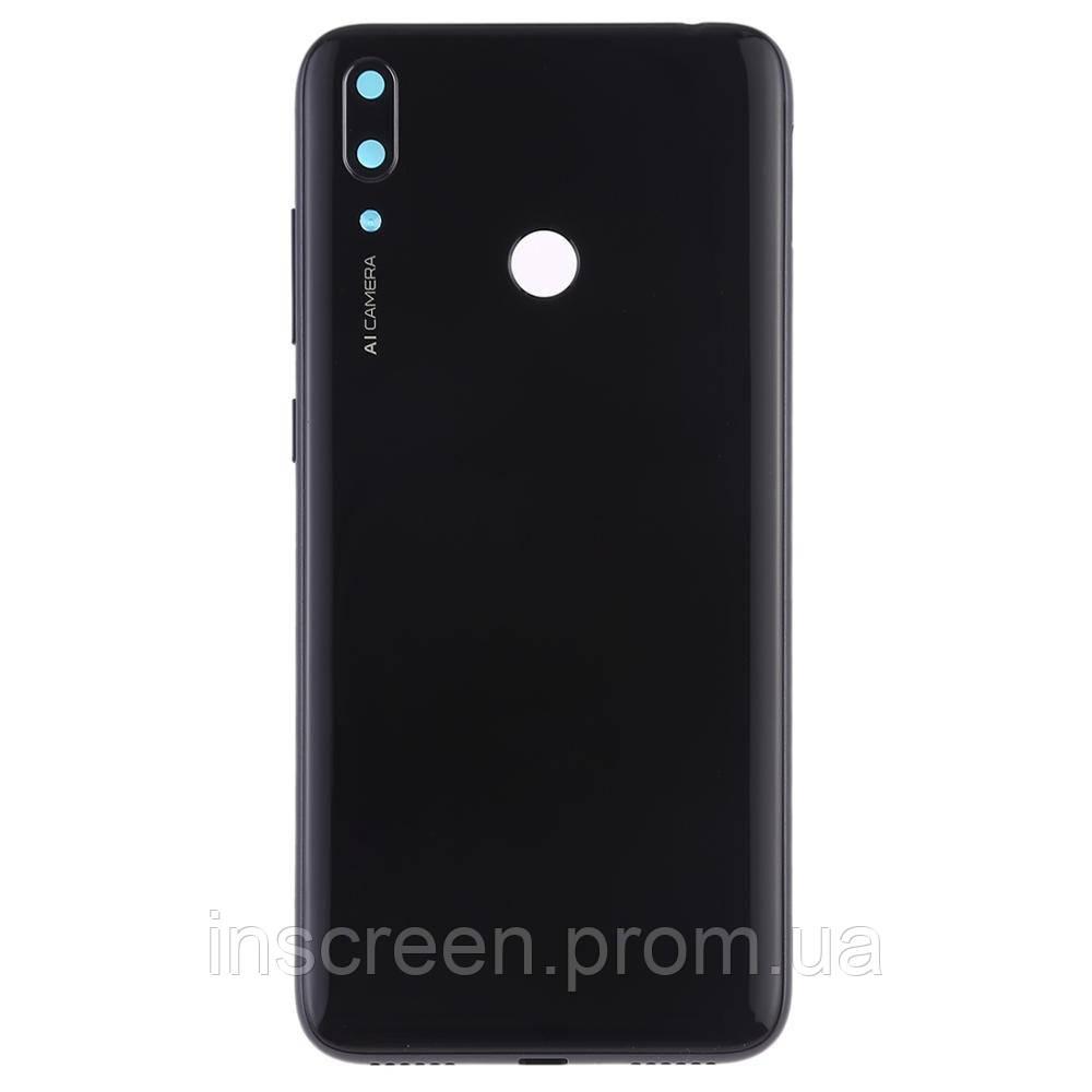 Задняя крышка Huawei Y7 2019 (DUB-LX1) черный, Midnight Black, Оригинал Китай
