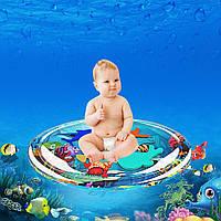 Надувной детский водный коврик Океанический круиз, фото 1