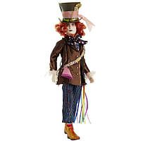 "Disney Алиса в Зазеркалье Безумный Шляпник Alice Through the Looking Glass 11.5"" Deluxe Mad Hatter Collector Doll"